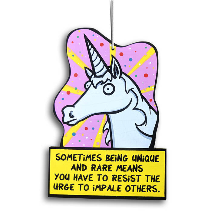 The Tolerant Unicorn Ornament