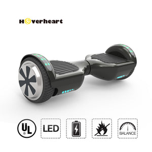 "New 6.5"" UL Certified Safe Bluetooth Hoverboard-black"