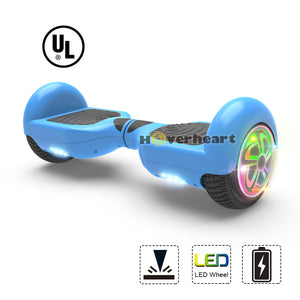 "6.5"" Hoverboard Flash Wheel Self Balancing Electric Scooter UL 2272 Certified-Blue"