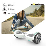"New 6.5"" UL Certified Safe Bluetooth Hoverboard -white"