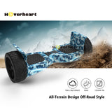 8.5 inch Blue Off Road Alloy Wheel Bluetooth Hoverboard-Blue Camo