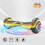 "6.5"" hoverboard LED Colorful Light Flash Wheel UL 2272 Certified"