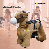 Rechargeable 6V/7A Plush Animal Ride On Toy ,Horse