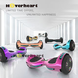 "6.5"" UL 2272 Certified Hoverboard  with Bluetooth and Self Balancing,Black"