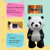 Rechargeable 6V/7A Plush Animal Ride On Toy ,Panda
