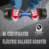 "6.5"" UL 2272 Listed Self Balancing Wheel Electric Scooter With Bluetooth/Blue"