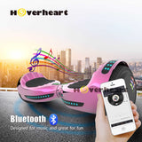 "6.5"" UL 2272 Certified Hoverboard  with Bluetooth and Self Balancing, Chrome pink"