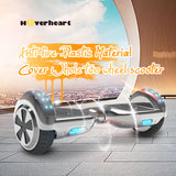 6.5'' Two Wheel Electric Hoverboard With Bluetooth-Chrome silver