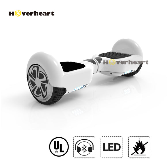 6.5'' hoverboard with bluetooth and LED UL 2272 certified-4colors