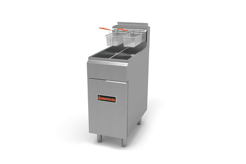 Sierra SRF-25/25NG Gas Fryer