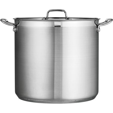 Tramontina Gourmet 24-Quart Covered Stainless Steel Stock Pot