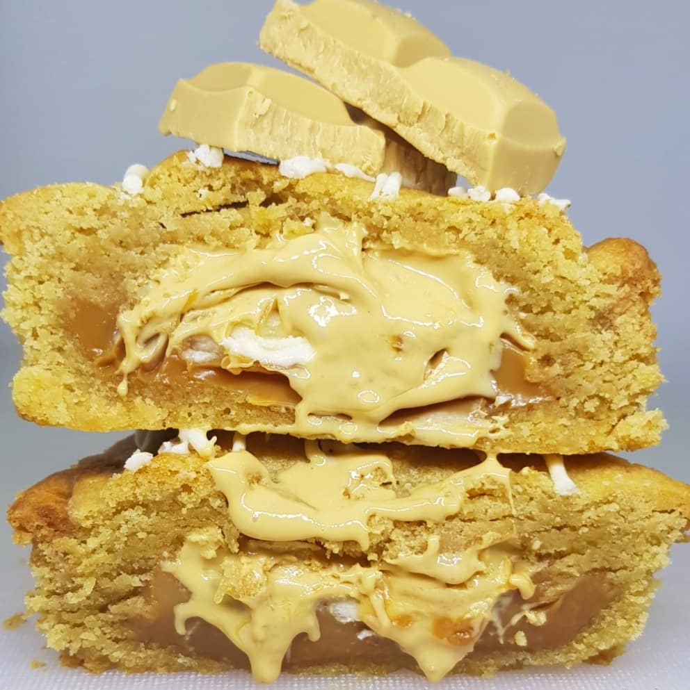 Caramilk Cookie
