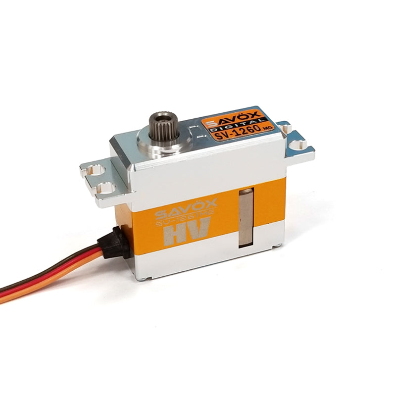 SV1260MG - Mini Digital High Voltage Aluminum Case Servo 0.055/167@ 7.4V