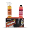 Single Car DURA-DRESSING Bonus KIT W/ AUTO WASH & GLASS CLEANER