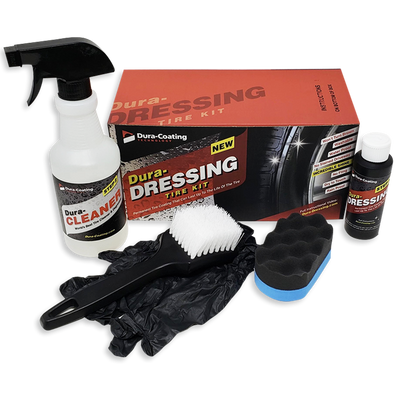 Dura-Dressing Total Tire Kit (Single Standard Car Kit not truck) Made in USA