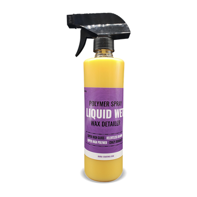 Liquid Wet Synthetic Wax Spray Detailer