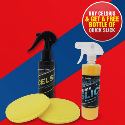 Celsius Nano Spray Coating With Free Quick Slick