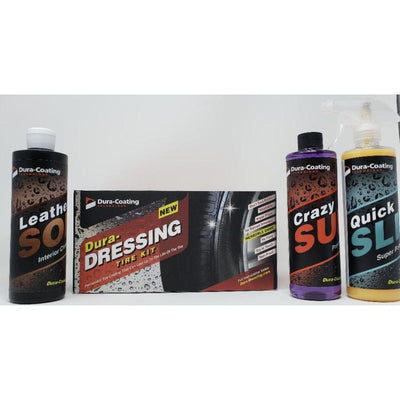 Dura-Dressing Total Tire Kit (single car) Bonus Pack #7 - 20% OFF WITH CODE