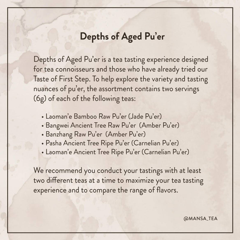 Depths of Aged Pu'er