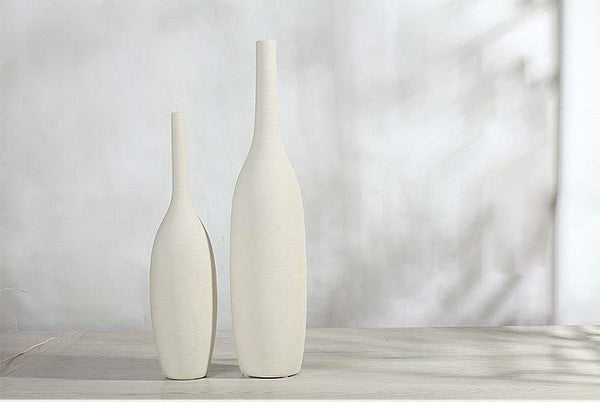 Porcelain Chinese Modern Ceramic White Vase