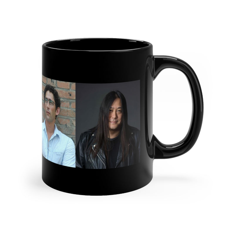 Sinica Podcast Jeremy and Kaiser Mug