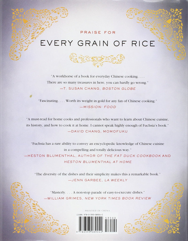 Every Grain of Rice: Simple Chinese Home Cooking by Dunlop, Fuchsia