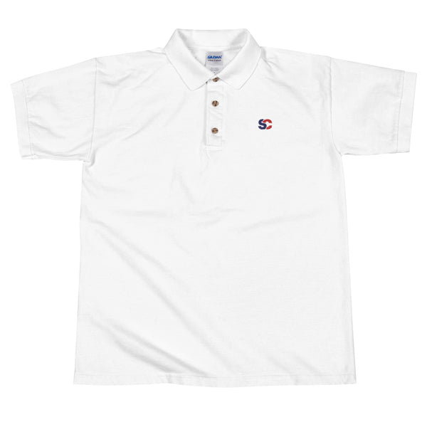 SupChina Embroidered Polo Shirt
