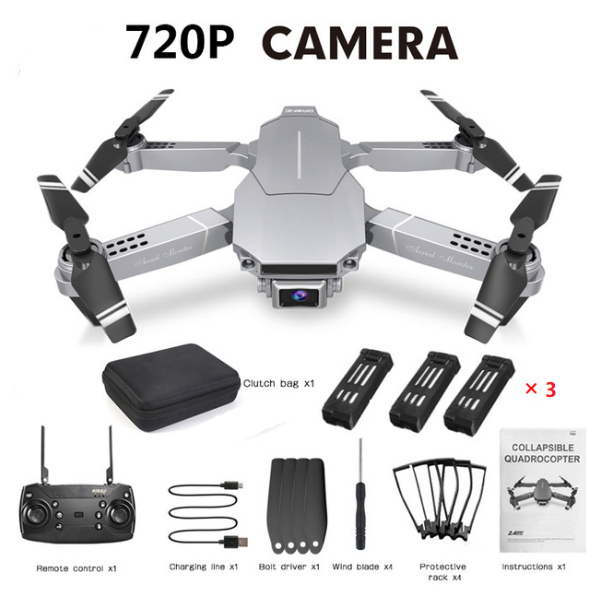 LANSENXI 2020 New E68 Mini Drone