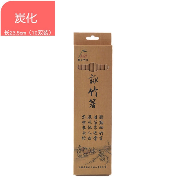 Bamboo Non-Slip Natural Chopsticks