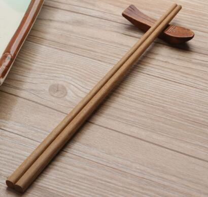 10 Natural Bamboo Chopsticks