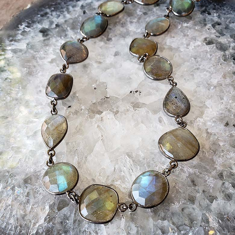 robindira unsworth labradorite necklace
