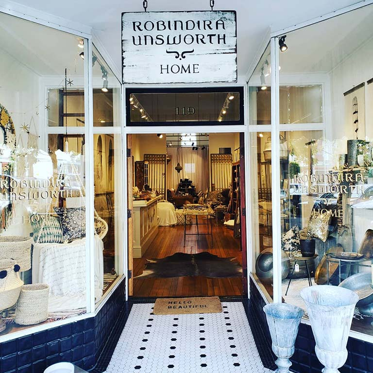 Robindira Unsworth Home Petaluma Boutique