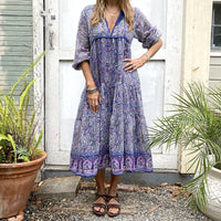 Blue Boheme Nathalie Blue Dress Clothing Blue Boheme