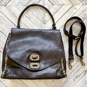 Campomaggi Studded Shoulder Bag BAG Campomaggi