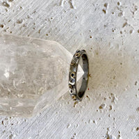 Delicate White Topaz Stacking Ring Ring Robindira Unsworth