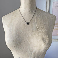 Diamond Slice Round Necklace Necklace Robindira Unsworth