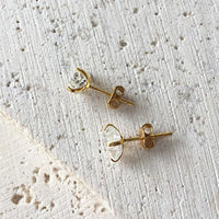Herkimer Diamond Studs Earrings Robindira Unsworth