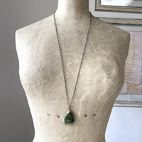 Imperial Jasper Pave' Diamond Necklace Necklace Robindira Unsworth