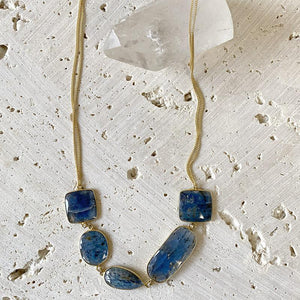 Kyanite Collar Necklace Necklace Robindira Unsworth