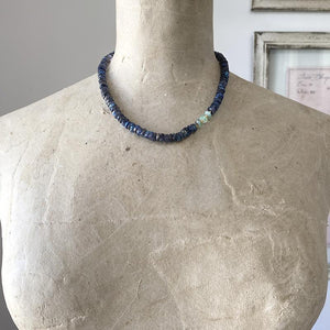 Labradorite And Opal Necklace Necklace Robindira Unsworth