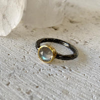 Labradorite Stacking Ring Ring Robindira Unsworth