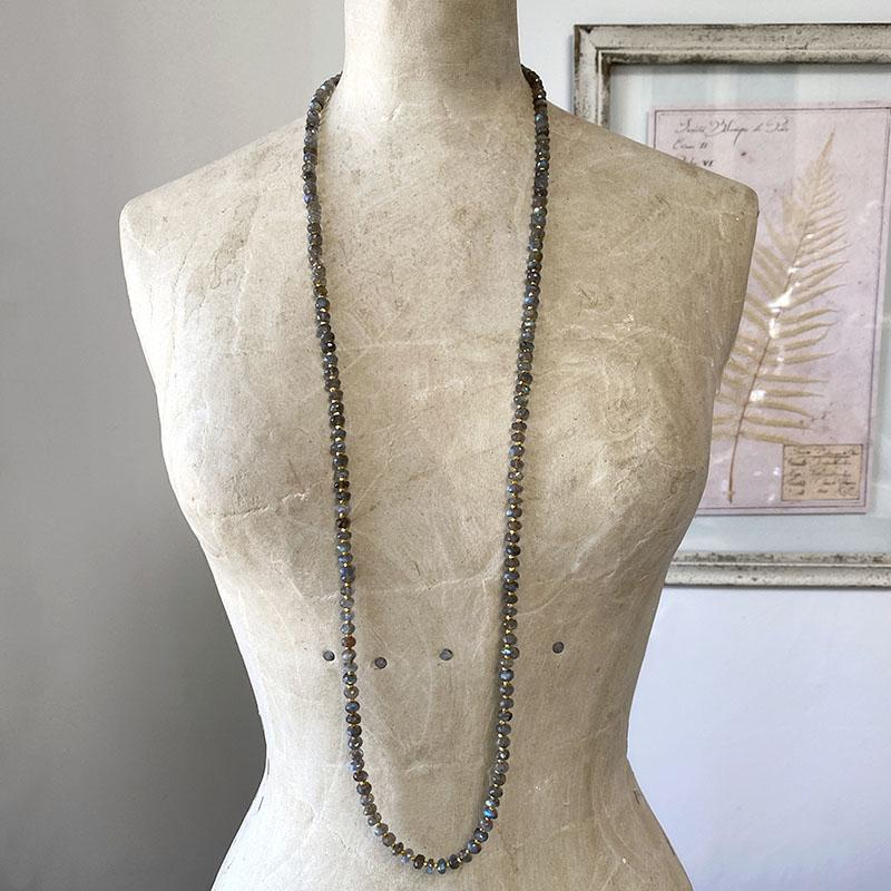 Layering Labradorite Necklace Necklace Robindira Unsworth