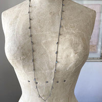 Layering Labradorite Teardrop Necklace Necklace Robindira Unsworth