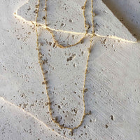 Long Layering Cubic Zirconia Necklace Necklace Robindira Unsworth