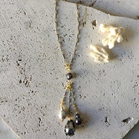 Long Pearl Drop Necklace Necklace Robindira Unsworth