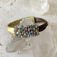Martell Colorful Moonstone Cuff Cuff Martell Studio