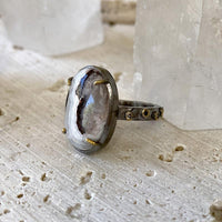 Mixed Metal Agate Ring Ring Robindira Unsworth