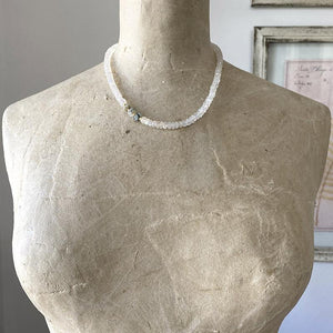 Moonstone And Opal Necklace Necklace Robindira Unsworth