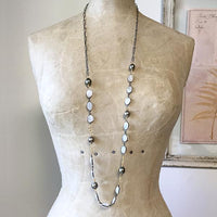 Moonstone Layering Necklace Necklace Robindira Unsworth