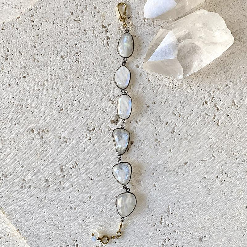 Moonstone Statement Bracelet Bracelet Robindira Unsworth